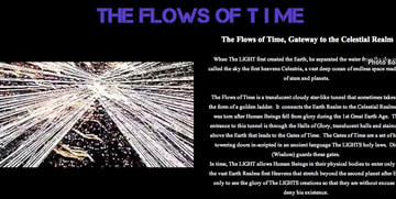The Flows of Time